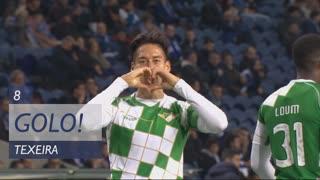 GOLO! Moreirense FC, Texeira aos 8', FC Porto 0-1 Moreirense FC