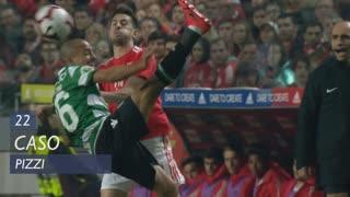 SL Benfica, Caso, Pizzi aos 22'