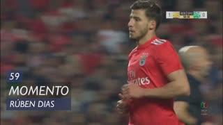 SL Benfica, Jogada, Rúben Dias aos 59'