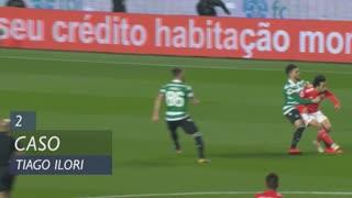 Sporting CP, Caso, Tiago Ilori aos 2'