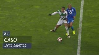Moreirense FC, Caso, Iago Santos aos 84'