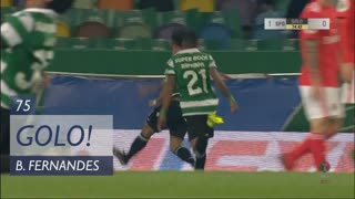 GOLO! Sporting CP, Bruno Fernandes aos 75', Sporting CP 1-0 SL Benfica