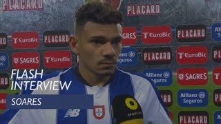 Taça de Portugal (Meias-Finais): Flash Interview Soares