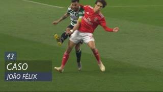 SL Benfica, Caso, João Félix aos 43'