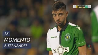 Sporting CP, Jogada, Bruno Fernandes aos 18'