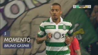 Sporting CP, Jogada, Bruno Gaspar aos 5'