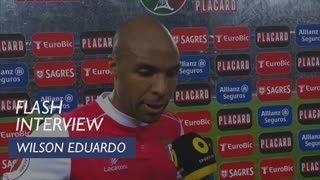 Taça de Portugal (Meias-Finais): Flash interview Wilson Eduardo