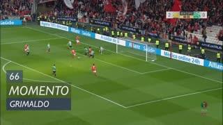 SL Benfica, Jogada, Grimaldo aos 66'