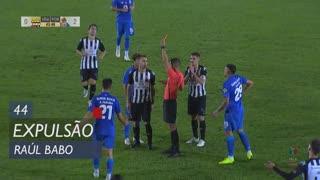 Vila Real, Expulsão, Raúl Babo aos 44'