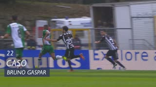Sporting CP, Caso, Bruno Gaspar aos 22'