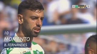 Sporting CP, Jogada, Bruno Fernandes aos 10'