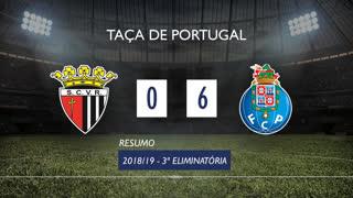 Taça de Portugal (3ª Eliminatória): Resumo Vila Real 0-6 FC Porto