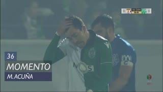 Sporting CP, Jogada, M. Acuña aos 36'