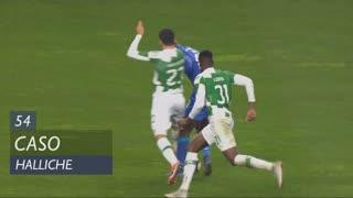 Moreirense FC, Caso, Halliche aos 54'