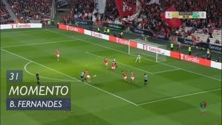 Sporting CP, Jogada, Bruno Fernandes aos 31'