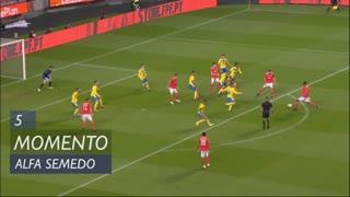 SL Benfica, Jogada, Alfa Semedo aos 5'