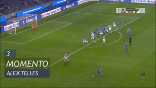 FC Porto, Jogada, Alex Telles aos 3'