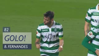 GOLO! Sporting CP, Bruno Fernandes aos 82', SL Benfica 2-1 Sporting CP