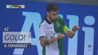 GOLO! Sporting CP, Bruno Fernandes aos 42', Sporting CP 3-0 Rio Ave FC