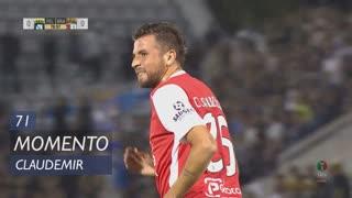 SC Braga, Jogada, Claudemir aos 71'