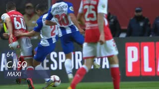 FC Porto, Caso, Maxi aos 64'