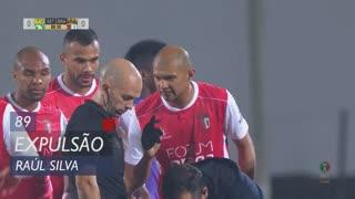 SC Braga, Expulsão, Raúl Silva aos 89'