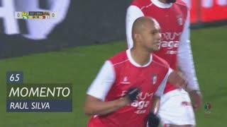 SC Braga, Jogada, Raúl Silva aos 65'