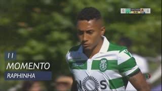 Sporting CP, Jogada, Raphinha aos 11'