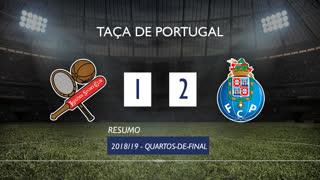 Taça de Portugal (Quartos de Final): Resumo Leixões SC 1-2 FC Porto