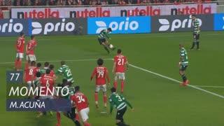 Sporting CP, Jogada, M. Acuña aos 77'