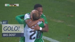 GOLO! Sporting CP, Bas Dost aos 61', Sporting CP 4-1 Rio Ave FC