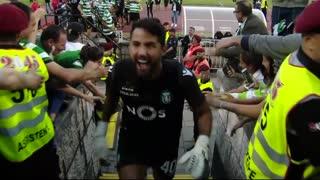 Taça de Portugal: entrega de medalhas e troféu Sporting CP