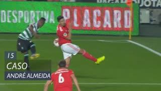 SL Benfica, Caso, André Almeida aos 15'