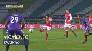 SC Braga, Jogada, Paulinho aos 12'