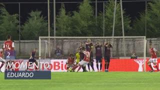 SC Braga, Jogada, Eduardo aos 2'