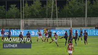 SC Braga, Jogada, Luther aos 40'