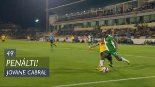 Sporting CP, Penálti, Jovane Cabral aos 49'