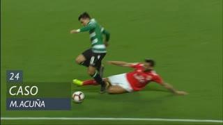 Sporting CP, Caso, M. Acuña aos 24'