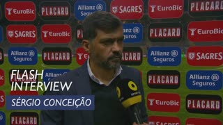 Taça de Portugal (Meias-Finais): Flash Interview Sérgio Conceição