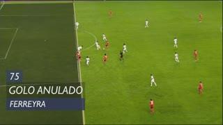 SL Benfica, Golo Anulado, Ferreyra aos 75'