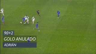 FC Porto, Golo Anulado, Adrián aos 90'+2'