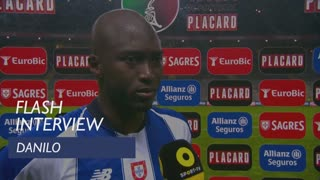 Taça de Portugal (Meias-Finais): Flash Interview Danilo