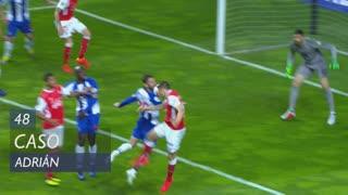 FC Porto, Caso, Adrián aos 48'