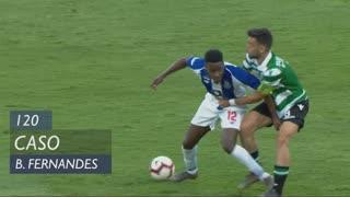 Sporting CP, Caso, Bruno Fernandes aos 120'