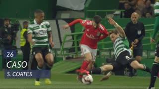 Sporting CP, Caso, S. Coates aos 26'