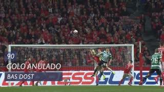 Sporting CP, Golo Anulado, Bas Dost aos 90'