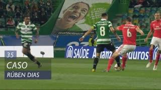 SL Benfica, Caso, Rúben Dias aos 35'