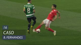 Sporting CP, Caso, Bruno Fernandes aos 16'