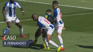 Sporting CP, Caso, Bruno Fernandes aos 2'
