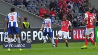 SC Braga, Caso, Wilson Eduardo aos 42'